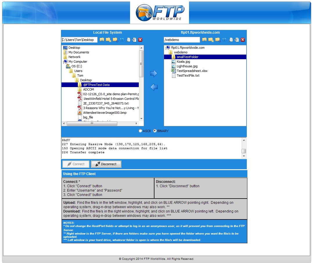 Secure FTP Client Software
